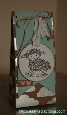stampin up easter lamb mouton Aurilyn Scrap'