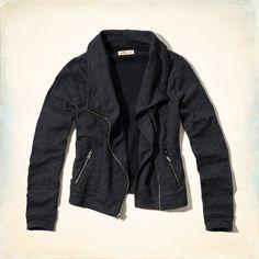 Mädels - Asymmetrisches Biker-Sweatshirt | Mädels - Oberteile | eu.HollisterCo.com