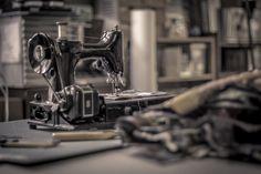 Bedrijfs fotografie voor textielatelier Iet vd Vrande. Echt super trots op dit resultaat, lekker retro!
