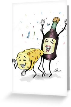 Invitation Cards - Ideal for hosting your Cheese & Wine Parties! Invitation Cards, Invitations, Wine Parties, Wine Cheese, Kraft Envelopes, Arts And Crafts, Greeting Cards, Snoopy, Drink