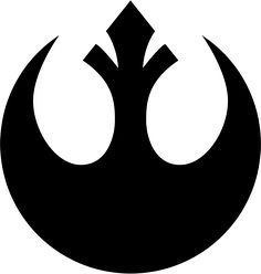 Star Wars Rebel Alliance Symbol - perfect shape for a cake. Don't you agree? // atrás do braço direito