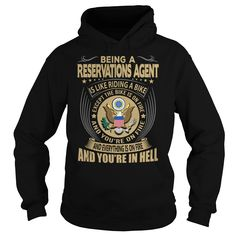 Reservations Agent Job Title T-Shirts, Hoodies. ADD TO CART ==►…