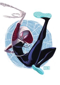 ArtStation - Spider-Gwen fan art, Kevin T. Chin