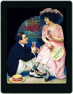 Propaganda antiga da Coca-Cola