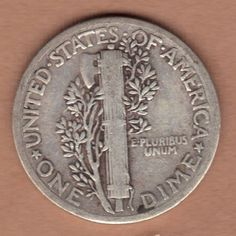 1936 Mercury Dime US 1936 Silver 10c Coin 1936 Winged Liberty #1