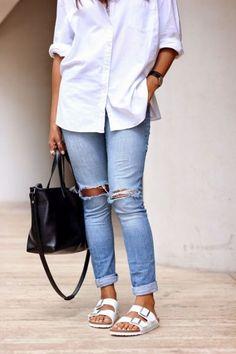 10 Chic Ways to Style Birkenstocks