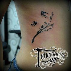 Tree Cherry blossom tattoo