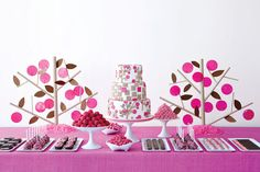 If you prefer an evening reception, but still want to stick to a budget, consider a desserts-only reception. Specify on the invitation that you will be serving desserts, so that guests don't expect a full meal. Offer a delicious array of sweets: pastries, pies, mousses and a dramatic flaming treat like Bananas Foster. To accompany, serve champagne or prosecco and specialty coffees and teas. Get more dessert ideas►Photo Credit: Gemma Comas