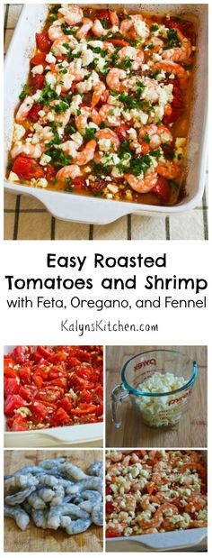 of Easy Roasted Tomatoes and Shrimp with Feta, Oregano, and Fennel ...