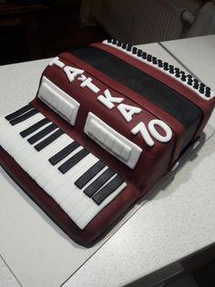 Acordeon cake- harmonika dort