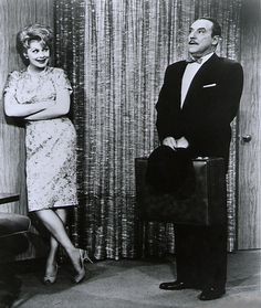 Lucille Ball and Gale Gordon on The Lucy Show- Love Mr. Mooney's temper!