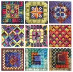 Tiny Treasures, The Caron Collection, charted needlepoint
