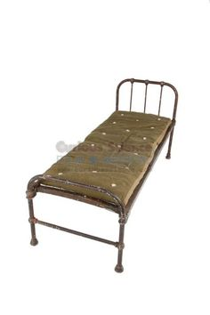 period hospital bed and horsehair mattress hospital beds