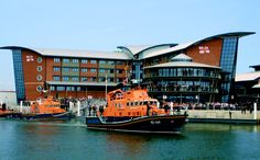 Poole is home to the Royal National Lifeboat Institute HQ & college.
