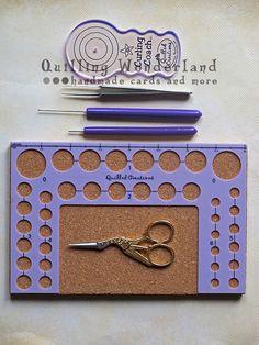 Basic quilling tools