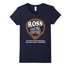Women's Ross Painting - We Don't Make Mistakes Shirt Medi...