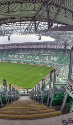 PL Wrocław: Stadion Miejskim Wroclaw, Poland