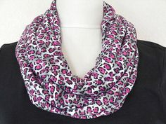 WEEKLY SPECIAL 12.00 Pink Leopard Scarf Animal by ModaBellaScarves