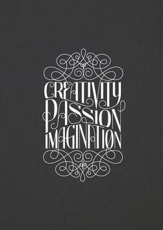 creativity/passion/imagination