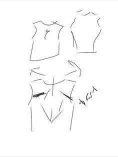 Shoulder blade t shirt