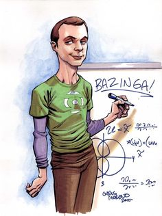 The Big Bang Theory Fan Art « impossible astronaut