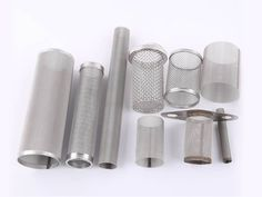 There are several different sizes of cylindrical extruder screens. Expanded Metal Mesh, Perforated Metal, Wire Mesh, Screens, Napkin Rings, Canning, Gold, Canvases, Metal Lattice