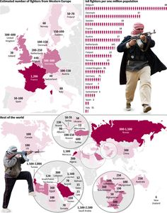 Islamic State, one year on: Where do its fighters come from? - Telegraph