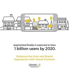 "Spark Eighteen on Instagram: ""Get better at storytelling, content marketing and user experience by using augmented reality in 2018! . . . #storytelling #content…"""