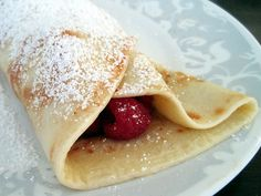 learned how to make these in cooking class. Finnish Pancakes, Finnish Recipes, Mille Crepe, Cooking Classes, Crepes, Finland, Dutch, Favorite Recipes, Eat