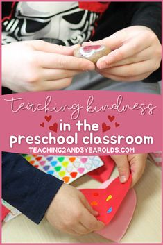 It's important to teach kindness in the classroom, starting as toddlers and preschoolers and every year thereafter. #kindness #classroom #friends #toddlers #preschool #teachers #teaching2and3yearolds Preschool Teachers, Preschool Curriculum, New Teachers, Toddler Preschool, Preschool Activities, Classroom Organization, Classroom Management, Teaching Kindness, 3 Year Olds
