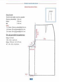 İsmek Modelistlik Kitabı PDF - NEBİHAN AKÇA Couture, Everything, Sewing, Pattern, Blog, Sewing Crafts, Sewing Patterns, Pajama Pants, Patronage