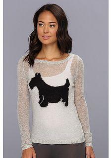 PJ Salvage Scotty Dog Lounge Sweater on shopstyle.com
