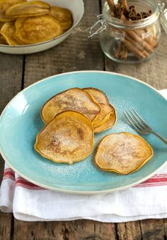 Slightly spicy, these pumpkin pancakes are easy to whip up for a week-end breakfast or brunch.