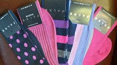 Show your man some #love this #Valentines with #pink #socks by #Falke from #Luck of #Louth.