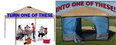 Standing Room Tents - Turn your canopy into a tent!