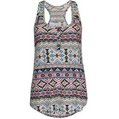 Tank tops are brought to life with Aztec prints :) Picture this with black leggings and tan boots <3