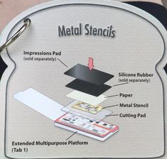 08 Sizzix Tips of 13 Metal Stencils Card Making Tips, Card Making Tutorials, Card Making Techniques, Making Ideas, Embossing Techniques, Shots Ideas, Embossed Cards, Card Sketches, Big Shot