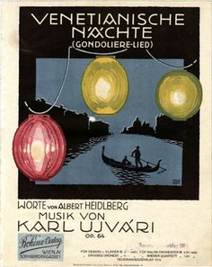 Venetianische Nächte, 1919 (ill.: Franz Bot (FB)); ref. 12584