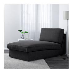 KIVIK Chaise - Hillared anthracite - IKEA
