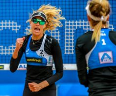 All-American quarterfinal in Hamburg– Allen/Slick knock out Brazil Olympic Badminton, Olympic Games Sports, Olympic Gymnastics, The A Team, One Team, Brazil Beach Volleyball, April Ross, Volleyball Outfits, Jordyn Wieber