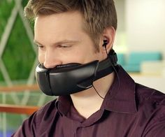 Voice-Muffling Face Masks - The 'Hushme' Voice Mask Allows for Private Calls in Open Spaces (GALLERY)