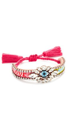 This Shourouk Eye Multi Bracelet would be the perfect spring accessory.