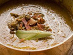 Ricetta autunnale: Zuppa piccante di funghi e ceci