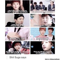 LMAO Suga!! I can relate to most of them, definitely not the last one though lol lmaooo go for me