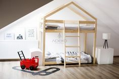 Youngsters Bedroom Furnishings – Bunk Beds for Kids Bunk Beds For Boys Room, Cool Bunk Beds, Kid Beds, Boy Room, House Frame Bed, House Beds, Bedroom Bed, Kids Bedroom, Bedrooms