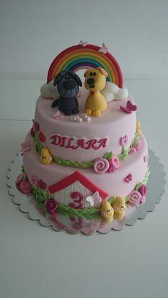 Woezel en pip taart / cake / torta