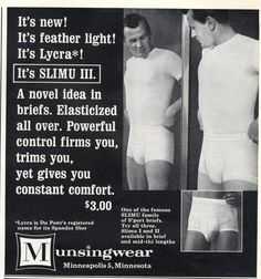 1960s Mens Underwear