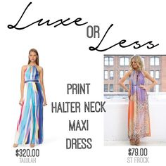 SHOP THESE: Talulah My Heroine Dress on The Iconic $320 {on sale $224}  |  Bora Bora Maxi Dress by St Frock $79