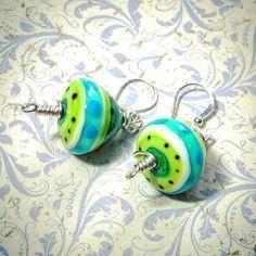 https://flic.kr/p/LQFhzS   New earrings! #handmade #original #artisanbeads…