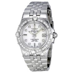 Breitling Women's A71340LA/A713SS Galactic 30 White Dial Watch Breitling, http://www.amazon.com/dp/B0084EY320/ref=cm_sw_r_pi_dp_R4E1qb0WAV8G7